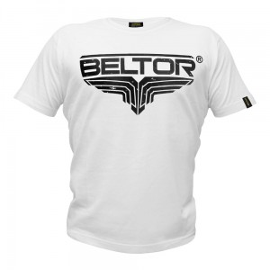 T-shirt Fight Brand Classic kolor biały Beltor