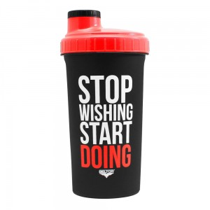 Shaker 700ml Stop wishing start doing - Beltor